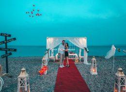 Kumsalda Evlilik Teklifi Organizasyonu Fiyatları