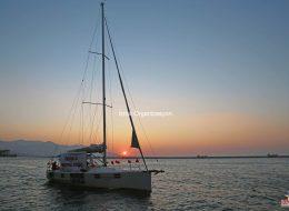 Teknede Evlenme Teklifi Pankartı