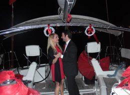 Karşıyaka Yelken Kulübü'nde Evlilik Teklifi Organizasyonu Paketi
