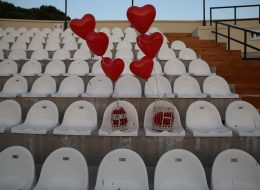 Fuar Açık Hava Tiyatrosu Evlilik Teklifi Serkan & Gözde Çifti