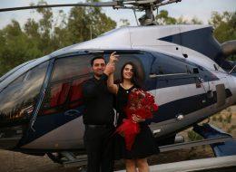 Helikopterde Evlilik Teklifi ve Yemek Organizasyonu İzmir Organizasyon