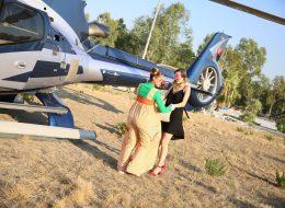 Helikopterle Sürpriz Evlenme Teklifi Organizasyonu İzmir Organizasyon