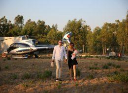İzmir Helikopterde Evlilik Teklifi Organizasyonu İzmir Organizasyon