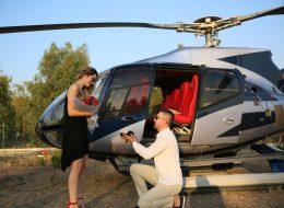 Helikopter Evlilik Teklifi Organizasyonu İzmir Organizasyon