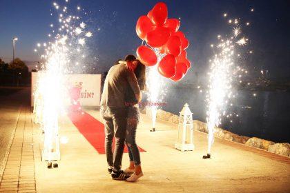 İnciraltı'nda Evlilik Teklifi Organizasyonu İzmir