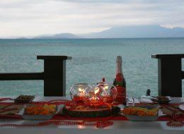 İskelede Romantik Evlilik Teklifi Organizasyonu Kuşadası