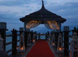 İskelede Romantik Evlilik Teklifi Organizasyonu İzmir