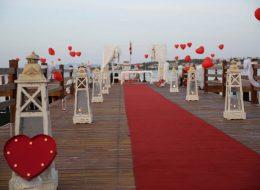 İskelede Sürpriz Evlilik Teklifi Organizasyonu İzmir