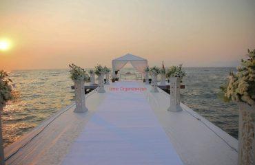 İskelede Evlilik Teklifi Organizasyonu