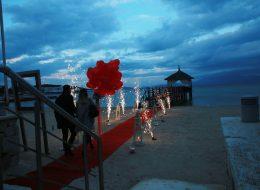 İzmir İskelede Evlilik Teklifi Organizasyonu