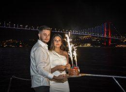 İstanbul Boğaz'da Evlilik Teklifi Organizasyonu