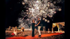 İstanbul Kumsalda Evlenme Teklifi Organizasyonu
