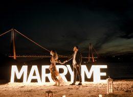 İstanbul Kumsal Evlilik Teklifi Organizasyonu