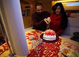 Karşıyaka Yelken Kulübü'nde Trio Evlilik Teklifi Organizasyonu Fatma & Eren