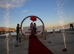 Romantik Evlilik Teklifi Organizasyon İzmir