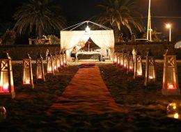 Kumsalda Romantik Evlenme Teklifi Organizasyonu İzmir