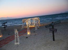 Plajda Romantik Evlenme Teklifi Organizasyonu İzmir