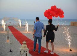 İzmir Sahilde Evlenme Teklifi Organizasyonu Yürüyüş Yolu