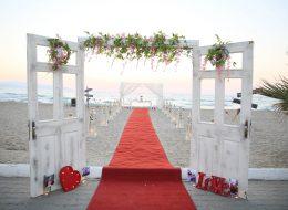 İzmir Evlilik Teklifi Organizasyonu Kumsalda Evlilik Teklifi Organizasyonu