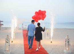 Bodrum Evlilik Teklifi Organizasyonu Yürüyüş Yolu ve Yer Volkanları