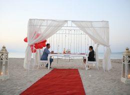 Evlilik Teklifi Organizasyonu Gazebo Süsleme ve Masa Süsleme