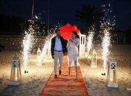 Evlenme Teklifi Organizasyonu Yer Volkanları ve Yürüyüş Yolu İzmir