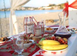 İzmir Evlilik Teklifi Organizasyonu Atıştırmalık ve Süsleme Hizmeti İzmir
