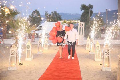 Kumsalda Evlilik Teklifi Organizasyonu İstanbul