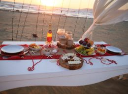 Romantik Masa Süsleme İzmir Organizasyon