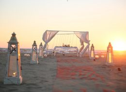 Kumsalda Evlilik Teklifi Organizasyonu Romantik Gazebo Süsleme İzmir Organizasyon