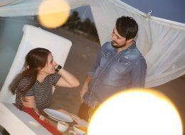 Kumsalda Romantik Evlilik Teklifi Organizasyonu İzmir Organizasyon