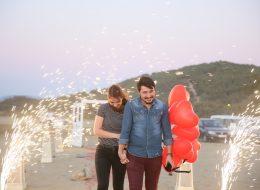 Kuşadası Kumsalda Evlilik Teklifi Organizasyonu İzmir Organizasyon