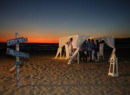 Kuşadası Kumsalda Evlilik Teklifi Organizasyonu Ceyda & Hüseyin