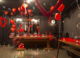 İzmir Restoranda Evlilik Teklifi Organizasyonu Süsleme Servisi