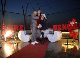 Restoranda Romantik Evlilik Teklifi Organizasyonu İzmir