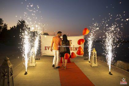 Lunaparkta Evlilik Teklifi Organizasyonu İzmir