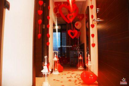 Otel Odası Süsleme Evlilik Teklifi Organizasyonu Paketi