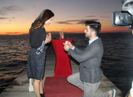 Sahilevlerinde Evlilik Teklifi Organizasyonu