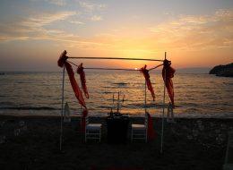Seferihisar Evlilik Teklifi Organizasyonu Kargı Süsleme İzmir Organizasyon