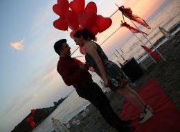 Evlenme Teklifi Organizasyonu Uçan Balon İzmir Organizasyon