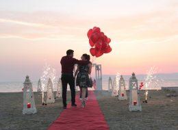 Seferihisar Evlenme Teklifi Organizasyonu İzmir Organizasyon
