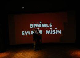 Beyaz Perdede Evlilik Teklifi Organizasyonu İzmir