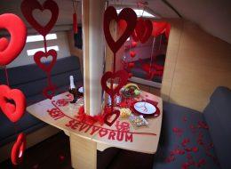 Teknede Evlilik Teklifi Organizasyonu İzmir