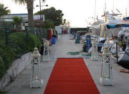 Evlenme Teklifi Organizasyonu Denizci Fenerleri ve Yürüyüş Yolu Hazırlıkları