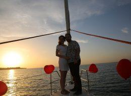 İzmir Teknede Evlilik Teklifi Organizasyonu Körfez Turu