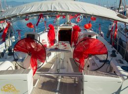 İzmir Tekne Süslemeleri Tül Süsleme