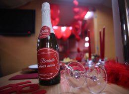 Teknede Evlilik Teklifi Organizasyonu Şampanya ve Dekoratif Ürünler