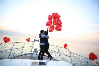 Teknede Evlilik Teklifi Organizasyonu Detayları