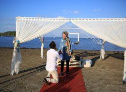 Urla Kumsal Evlenme Teklifi Organizasyonu