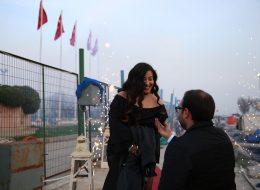 Yatta Sürpriz Evlenme Teklifi Organizasyonu